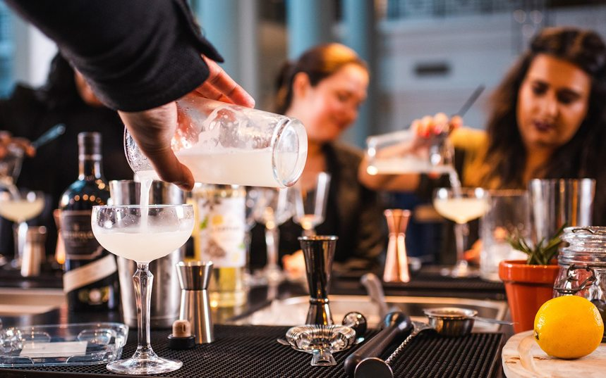 fun mixology class Houston